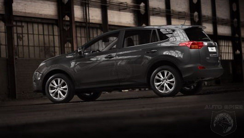 LA AUTO SHOW: 2013 Toyota RAV4 Images Slip Out Before The Show